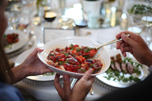 Sharing Salads - Sharing Platters Wedding