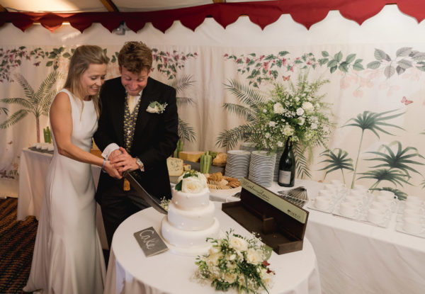 Cake and Cheese - Kent Wedding