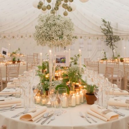 Candle lit Wedding - Catering