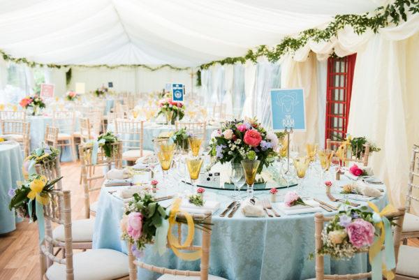 Summer Wedding - Marquee wedding