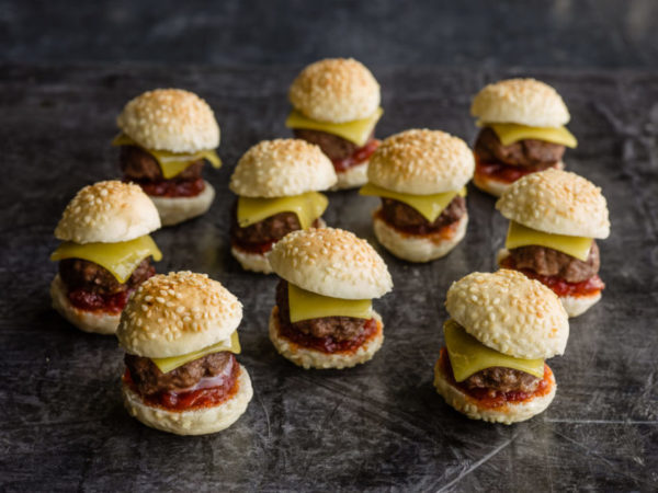 Mini Burgers - Party Food - Catering London