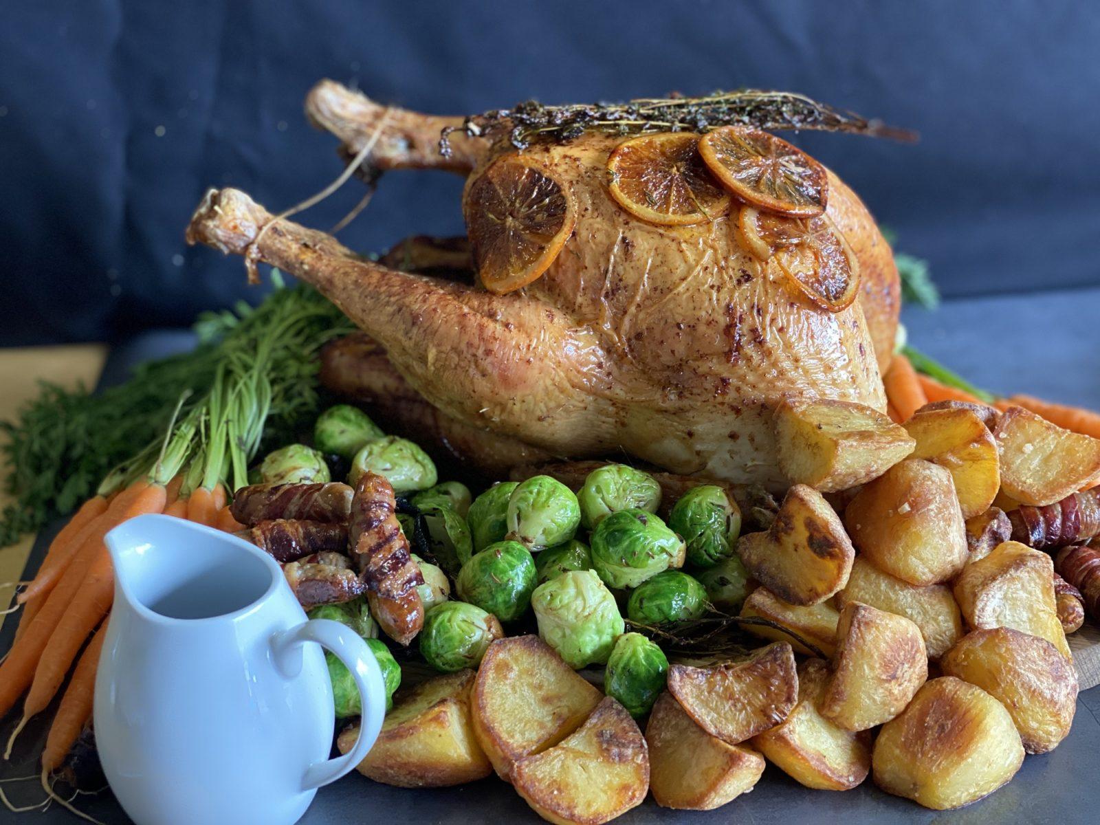 christmas dinner to order